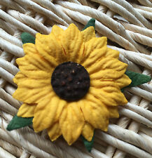 ✿Gorgeous Handmade Mulberry Paper Sunflowers x 8 - X - Large - Wedding Invites ✿