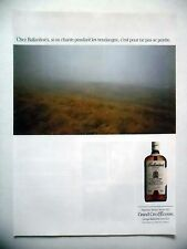 PUBLICITE-ADVERTISING :  BALLANTINE'S  1990 Scotch Whisky,Alcool,Ecosse