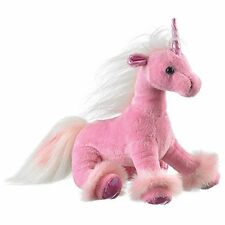 Wildlife Artists Unicorn Plush Stuffed Toy, Pink
