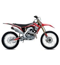 HONDA CRF 250 CRF 450 ONE INDUSTRIES CHECKERS GRAPHICS STICKER KIT 13 14 15 16