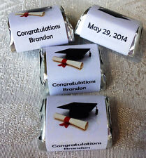 210 GRADUATION THEMED PARTY CANDY WRAPPERS/STICKERS/LABELS FAVORS personalized