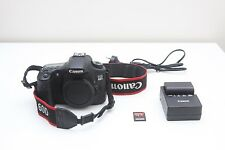 Canon EOS 60D 18MP DSLR Black Body Digital SLR Camera with 32GB Sandisk SD Card