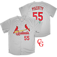 St Louis Cardinals Adult XL Gray Replica Stephen Piscotty Road Jersey  SGA 4/9