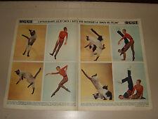 JULIET PROWSE SWEN SWENSON 1966 clipping ritaglio articolo photo foto vintage