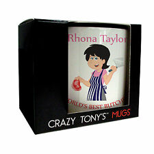 Personalised  Butcher Gifts For Women, Lady Butchers Mug, Crazy Tony's, Design 3