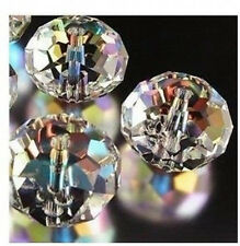 free shipping 100pcs clear ab exquisite Glass Crystal 3*4mm #5040 loose bead