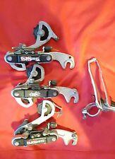 lot 3 DERAILLEURS SHIMANO ARRIÈRE RD-TY18   + 1 AVANT  GOLDEN ARROW REAR bike