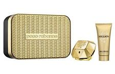 Lady Million By Paco Rabanne Eau de Perfume Spray 50ml + Body Lotion 100ml Gift