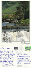 1994 AASLEAGH FALLS COUNTY MAYO IRELAND COLOUR POSTCARD