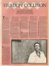 27/7/85PN22 ARTICLE SURVIVOR 0F THE CLASH NICK TOPPER HEADON