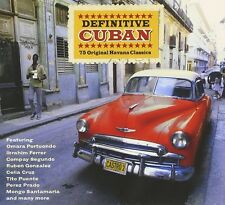 DEFINITIVE CUBAN - Ruben Gonzalez, Celia Cruz, Ibrahim Ferrer - 3 CD NEU