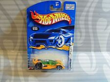 2002 HOT WHEELS ''FIRST EDITIONS'' #033 = OPEN ROAD-STER = YELLOW  star ,0910