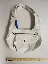 VERA WANG Women's White  Hand Bag Tote Purse Snow White FLASH SALE