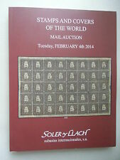 Stamps and Covers of the World Mail Auction February 2014 Briefmarken Philatelie