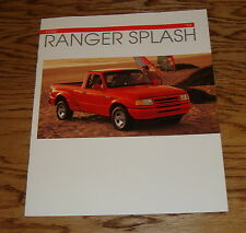 Original 1993 Ford Truck Ranger Splash Sales Brochure 93