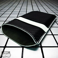 Carbon-Fiber Leather Sleeve Case Cover Pouch for HTC ONE MINI 2/II/MINI2