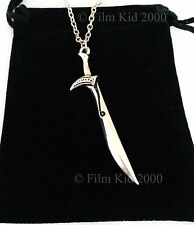 Desolation of Smaug Thorin Sword Necklace HOBBIT LOTR Lord Of The Rings Orcrist