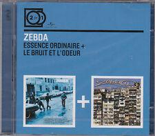 2 CD ZEBDA ESSENCE ORDINAIRE + LE BRUIT ET L'ODEUR COLLECTION 2 FOR 1 NEUF
