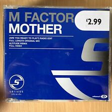M Factor - Mother ~ Are You Ready to Play? ~  CD Single