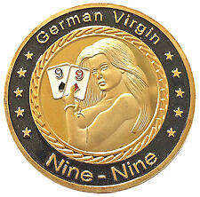 Man Humor German Virgin Heads & Tails Good Luck Novelty Coin - Gift for Men!
