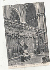 BR65457 st edward s screen and coronation chair westminster abbey  london   uk