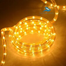 Yellow Rope Light Waterproof Led Neon Light for festival-18 Feet
