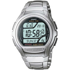 Da Uomo Casio Wave Ceptor Bracciale digitale watch wv-58du -1 AVES