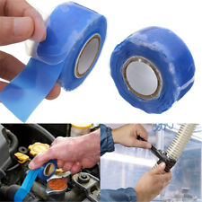 Blue Silicone Performance Repair Bonding Rescue Self Fusing Wire Hose Tape 10FT