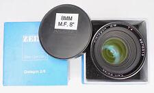 Carl Zeiss 8mm f2 (T2.1) Distagon T* Mark II Arriflex BM  #6676313