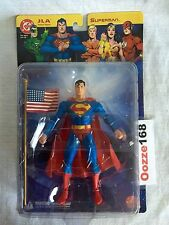 JLA SUPERMAN Action Figure 2003 DC DIRECT Series 1 Grant Morrison UNOPENED MINT