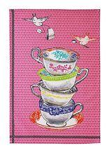 Geschirrtuch Küchentuch Vaisselle rosa pink Shabby, Fa. Coucke