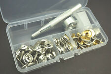 Boat Marine canopy Canvas Cover Snap Fasteners Screw Studs Buttons,& Sockets Kit