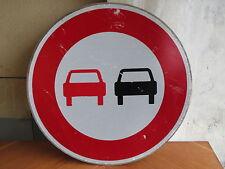 deco Industrielle panneau rond routier signalisation voiture deco loft