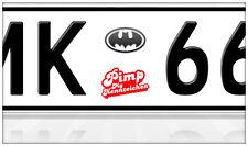 AU Ersatz Plakette Nummernschild Aufkleber Fledermaus Bat Man Marvel Spiderman