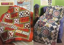 Watermelon & Shoofly ,  Lucy's Dinner Plate      Quilt    Pattern Only
