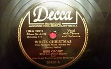 christmas 78 bing crosby white christmas 78 lets start the new year right