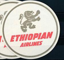 84837) Luftpost Vignette Air Mail label, Ethiopian Airlines