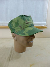 Gr.58/59 US Army VIET NAM PATROL CAP Mitchell Leaf Pattern Vietnam Jungle