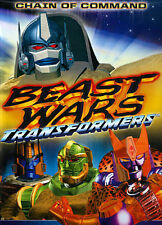 Beast Wars Transformers: Chain of Command (DVD, 2014) Free Shipping!