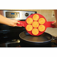 New Flippin' Fantastic Nonstick Pancake Maker Egg Ring Maker Seen Tv Easy Fasy