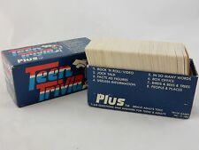 Teen Trivia Plus 1984 Trivia Card Game