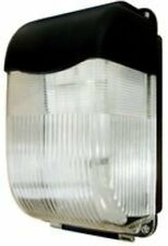 LED Bulkhead 11W Black Energy Saving Vandal Proof Bulkhead IP65 Polycarbonate