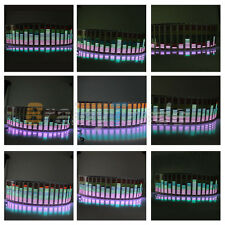 Car Stickers Sound music Activated Sensor Multi Color LED Equalizer Glow 80*19cm