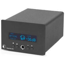 Pro-Ject Head box DS (high-end auriculares con amplificador) negro/Black nuevo + embalaje original!