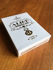White Alice in Wonderland Playing Cards by Deckstarter and Dan and Dave: New