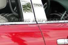 2011-2016 Ford Explorer Chrome Stainless Steel Window Sill Trim-4Pc Overlay