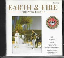 EARTH & FIRE - The Very Best of CD Album 14TR (DIAMOND COLLECTION) 1991 Holland