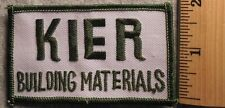 KIER BUILDING MATERIALS PATCH (CONSTRUCTION, HARDWARE)