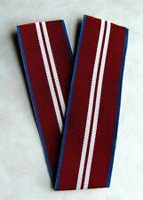 Canada Canadian Queen Elizabeth II Diamond Jubilee Medal Full Size Ribbon
