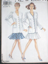 New Look 6657 Misses Jacket & Skirt Size 6 8 10 12 14 16 Office Garden Party